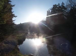Sunrise in ADK