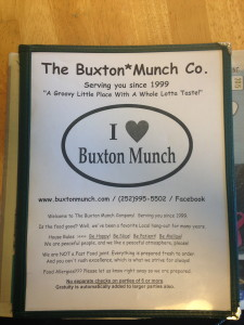 The Buxton Munch